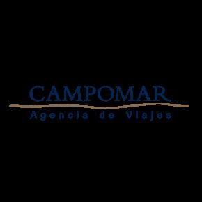 Logo de la marca Campomar Agencia de Viajes