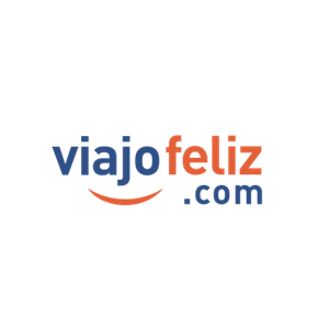Logo de la marca Viajo Feliz