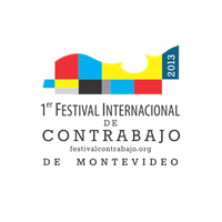 Logo de la marca Festival de Contrabajo de Montevideo