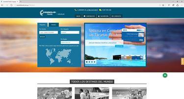 Imagen de Consolid Travel - Diseño Web