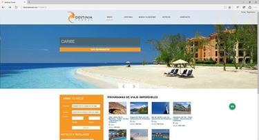 Imagen de Destinia Travel - Diseño Web