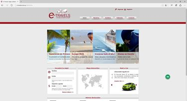 Imagen de E-Travels Rent a Car & Travel - Diseño Web