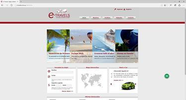 Imagen de E-Travels Rent a Car & Travel - Diseño Web