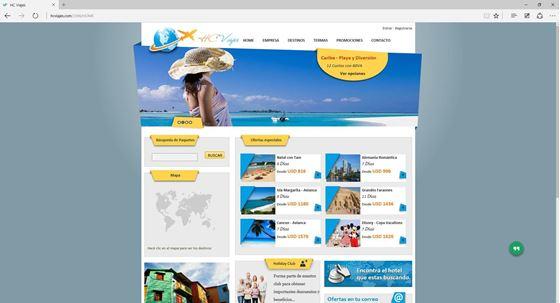 Imagen de HC Viajes - Diseño Web