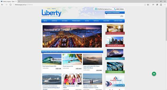 Imagen de Liberty Uruguay - Maquetado Web Agile Tour
