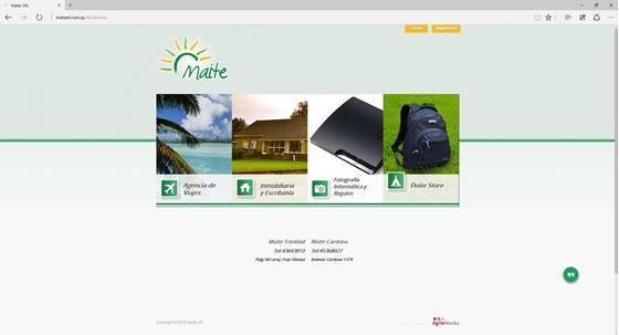 Imagen de Maite SRL - Diseño Web