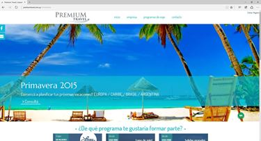 Imagen de Premium Travel - Diseño Web