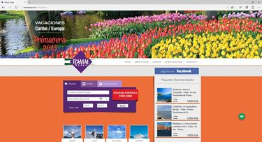 Imagen de Ramal Viajes - Diseño Web