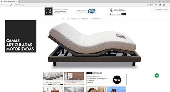 Imagen de Simmons - Diseño Web Ecommerce