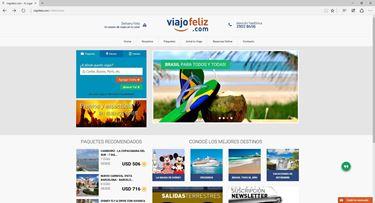 Imagen de Viajo Feliz - Diseño Web