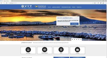 Imagen de VYT Viajes y Turismo - Diseño Web
