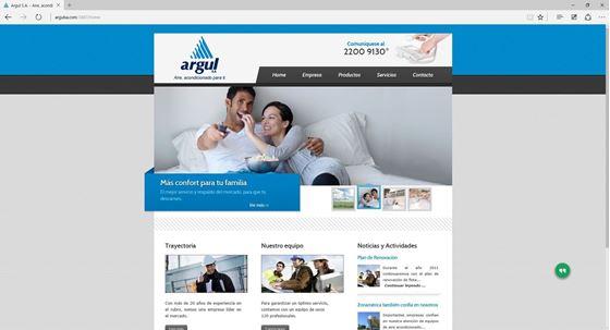 Imagen de Argul S.A. - Diseño Web