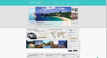 Imagen de Campomar Agencia de Viajes - Diseño Web