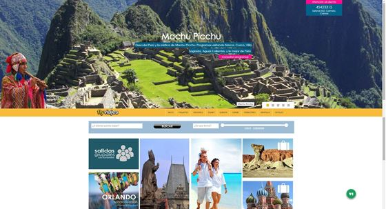 Imagen de FlyViajes - Diseño Web