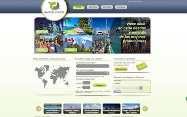 Imagen de Banico Viajes - Diseño Web