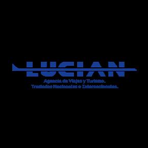 Logo de la marca Lucian Transporte y Turismo