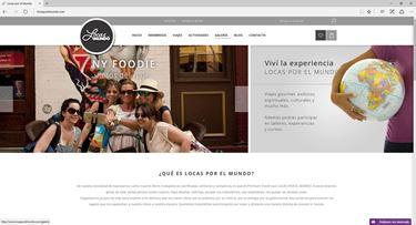 Imagen de Locas por el Mundo - Diseño Web Ecommerce