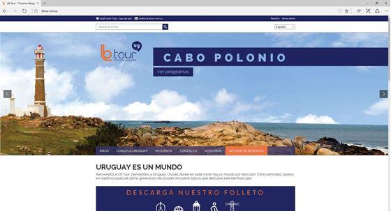 Imagen de LB Tour - Diseño Web Ecommerce