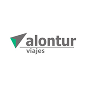 Logo de la marca Alontur Viajes