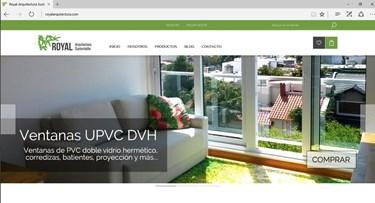 Imagen de Royal Arquitectura Sustentable - Diseño Web Ecommerce