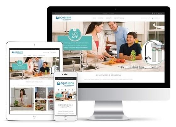 Imagen de Aquasana - Diseño Web Ecommerce