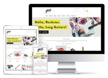 Imagen de Jevi Gift Store - Diseño Web Ecommerce