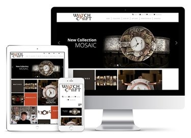 Imagen de WatchCraft - Diseño Web Ecommerce