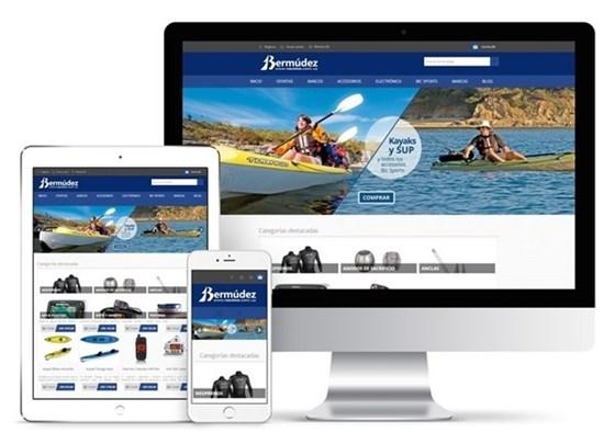 Imagen de Bermúdez Náutica - Diseño Web Ecommerce