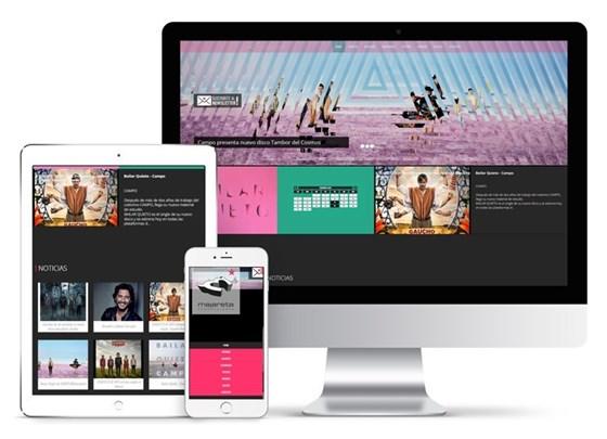 Imagen de Majareta Producciones - Diseño Web